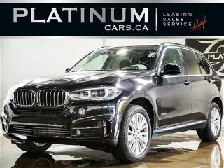 Used 2015 BMW X5 xDrive35i, 7 PASSENGER, NAVI, CAM, PANO, LTHR for sale in North York, ON