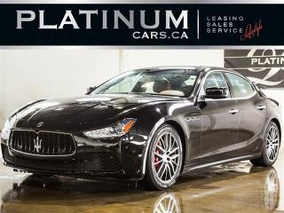 Used 2015 Maserati Ghibli S Q4 AWD, NAVI, PADDLE SHIFT, SUNROOF for sale in North York, ON