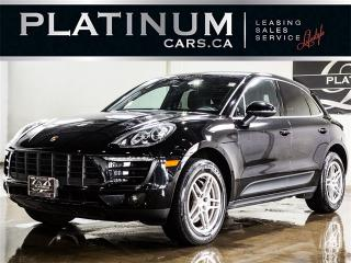 Used 2015 Porsche Macan S, 340HP AWD, HEATED LEATHER, PADDLE SHIFT for sale in North York, ON