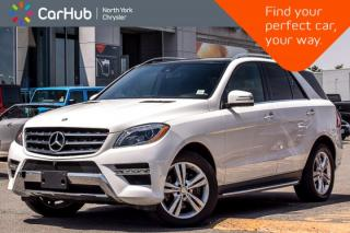 Used 2015 Mercedes-Benz ML-Class ML 350 BlueTEC 4Matic|Park.AssistPkg|PanoSunroof|SurroundCam|Nav| for sale in Thornhill, ON