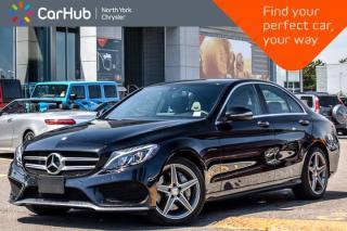 Used 2015 Mercedes-Benz C-Class C 400 4Matic|MultimediaPkg|PanoSunroof|Nav|Burmester|18