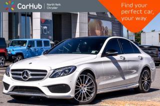 Used 2015 Mercedes-Benz C-Class C 400 4Matic|MultimediaPkg|PanoSunroof|Nav|RedLeather|18