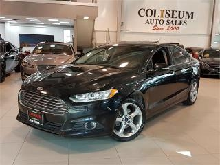 Used 2016 Ford Fusion SE-AUTO-SUNROOF-CAMERA-BLUETOOTH-ONLY 92KM for sale in York, ON
