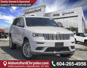 New 2018 Jeep Grand Cherokee Summit for sale in Abbotsford, BC