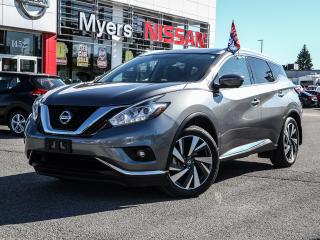 Used 2018 Nissan Murano Platinum AWD for sale in Orleans, ON