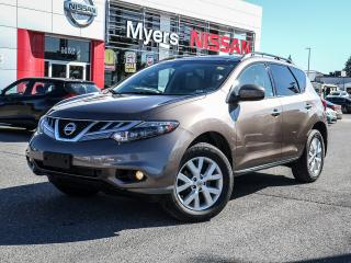 Used 2013 Nissan Murano SL LEATHER REVERSE CAMERA for sale in Orleans, ON