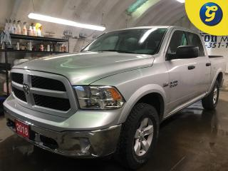 Used 2018 RAM 1500 OUTDOORSMAN*CREW CAB*4WD*HEMI*PENDALINER BEDLINER*Trailer Brake Control*HILL ASSIST*TOW/HAUL MODE*PHONE CONNECT* CLIMATE CONTROL*HEATED MIRRORS*POWER for sale in Cambridge, ON