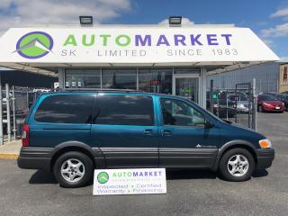 Used 2003 Pontiac Montana FINANCING FOR ALL CREDIT TYPE'S! for sale in Langley, BC