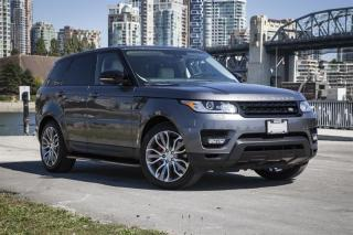 Used 2015 Land Rover Range Rover Sport V8 Supercharged Dynamic *7 Passenger - RARE! for sale in Vancouver, BC