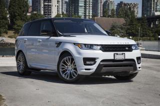 Used 2016 Land Rover Range Rover Sport V8 Supercharged Autobiography Dynamic *Certified Pre-Owned! for sale in Vancouver, BC