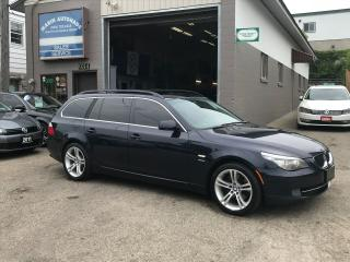 Used 2010 BMW 5 Series 535i WAGON/ MANUAL/ for sale in Kitchener, ON