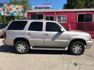 Used 2005 Cadillac Escalade for sale in Toronto, ON