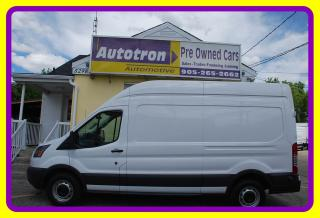 Used 2015 Ford TRANSIT-250 3/4 Ton HIGH ROOF Cargo Van, Loaded for sale in Woodbridge, ON