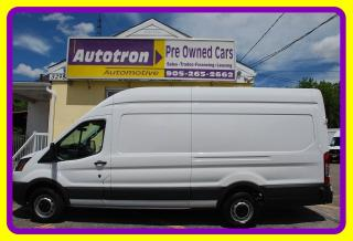 Used 2016 Ford TRANSIT-250 3/4 Ton, EXT. HIGH ROOF Cargo Van, Loaded for sale in Woodbridge, ON