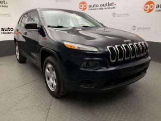 Used 2014 Jeep Cherokee SPORT 4WD for sale in Red Deer, AB