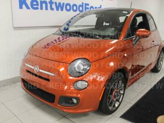 Used 2013 Fiat 500 Sport for sale in Edmonton, AB