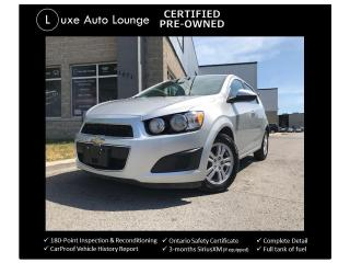 Used 2015 Chevrolet Sonic LT for sale in Orleans, ON