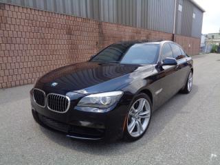Used 2012 BMW 750i xDRIVE-M-SPORT-NAV-360 CAMERA-NIGHT VISION-HUD for sale in Etobicoke, ON