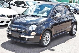 Used 2013 Fiat 500 Lounge | Leather | Convertible | Sport Mode for sale in Markham, ON