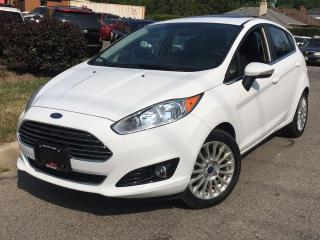 Used 2014 Ford Fiesta TITANIUM-BACK UP CAMERA-NAVI-ROOF-LOADED for sale in Mississauga, ON