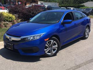 Used 2016 Honda Civic LX-HEATED SEATS-REAR CAM-NO ACCIDENTS-26KMS for sale in Mississauga, ON