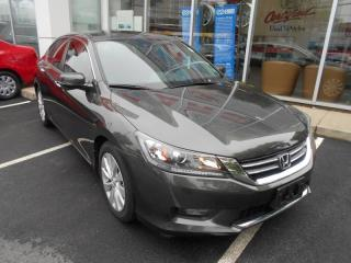 Used 2014 Honda Accord EX-L HEATDE LEATHER POWER BUCKET SEATS for sale in Halifax, NS