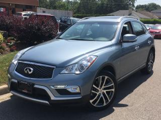 Used 2016 Infiniti QX50 TECH PKG-NAVI-ROOF-NO ACCIDENTS-18KMS for sale in Mississauga, ON