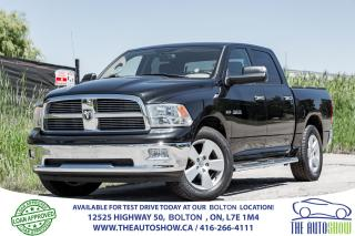 Used 2010 Dodge Ram 1500 4x4 HEMI 4DR 1 OWNER SERVICE RECORDS CERTIFIED for sale in Bolton, ON