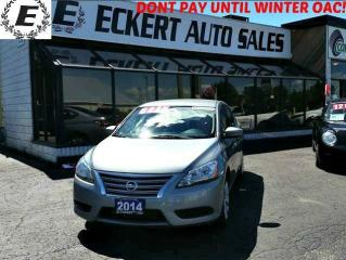 Used 2014 Nissan Sentra S MANUAL for sale in Barrie, ON