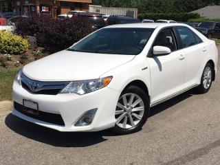 Used 2012 Toyota Camry XLE-HYBRID-LOADED-1 OWNER-NO ACCIDENTS for sale in Mississauga, ON