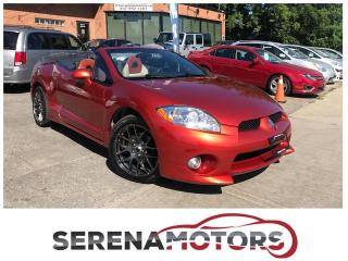 Used 2008 Mitsubishi Eclipse GT V6 SPYDER | 6 SPEED MANUAL | HEATED SEATS | for sale in Mississauga, ON