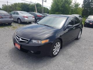 Used 2007 Acura TSX leather sunroof for sale in Gormley, ON