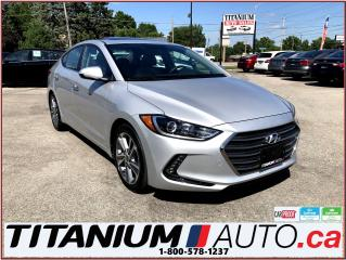 Used 2017 Hyundai Elantra Limited+GPS+Camera+Sunroof+Leather Power Seats++++ for sale in London, ON