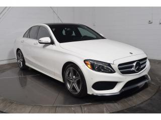 Used 2015 Mercedes-Benz C-Class C400 AWD CUIR TOIT for sale in Saint-hubert, QC