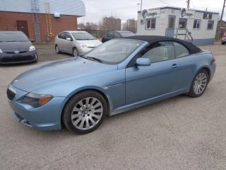 Used 2005 BMW 645 ci CI for sale in Kitchener, ON