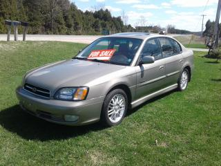 Used 2001 Subaru Legacy GT LIMITED for sale in Chatsworth, ON