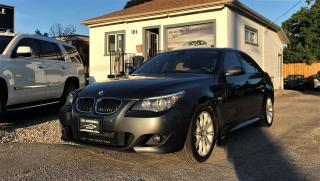 Used 2010 BMW 535xi 535i xDrive AWD NAVI LEATHER SUNROOF NO ACCIDENT for sale in Mississauga, ON