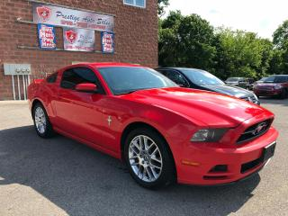 Used 2014 Ford Mustang 3,7L/V6/2 YEARS WARRANTY/ONE OWNER/NO ACCIDENT for sale in Cambridge, ON