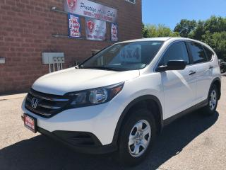 Used 2014 Honda CR-V LX/AWD/NO ACCIDENT/CERTIFIED/WARRANTY INCLUDED for sale in Cambridge, ON