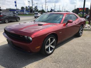 Used 2014 Dodge Challenger 5.7 Hemi * 1 Owner * Leather * NAV * Sunroof * Heated Seats for sale in London, ON