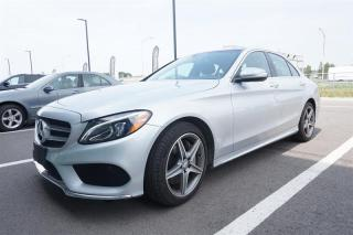 Used 2015 Mercedes-Benz C 300 Awd Sedan for sale in Trois-Rivières, QC