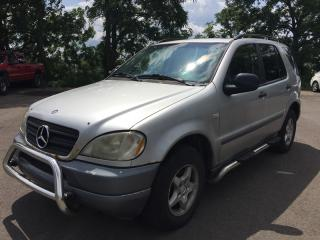 Used 1999 Mercedes-Benz ML 320 AWD * LEATHER * SUNROOF for sale in London, ON