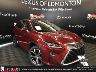 Used 2018 Lexus RX 350 DEMO UNIT - LUXURY PACKAGE for sale in Edmonton, AB