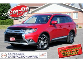 Used 2017 Mitsubishi Outlander GT V6 AWD 7 SEAT LEATHER SUNROOF LOADED 18,000 KM for sale in Ottawa, ON
