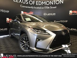 New 2018 Lexus RX 350 F Sport SERIES 2 for sale in Edmonton, AB