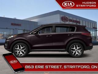 Used 2018 Kia Sportage SX| AWD| Black Leather | Low KM for sale in Stratford, ON