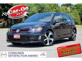 Used 2015 Volkswagen Golf GTI Performance REAR CAM HTD SEATS  11,000 KM for sale in Ottawa, ON