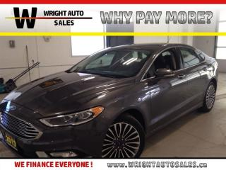 Used 2017 Ford Fusion Titanium   NAVIGATION LEATHER SUNROOF 67,407 KMS for sale in Cambridge, ON