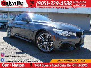 Used 2014 BMW 435i xDrive M SPORT | M EXHAUST | RED LEATHER | NAVI for sale in Oakville, ON