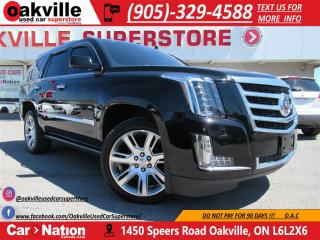 Used 2015 Cadillac Escalade Premium | NAVI | DVD | MOONROOF | BOSE for sale in Oakville, ON